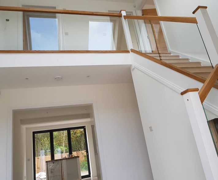 Bespoke staircase installs in Bickley