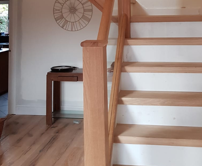 Oak staircase installs in Latchingdon
